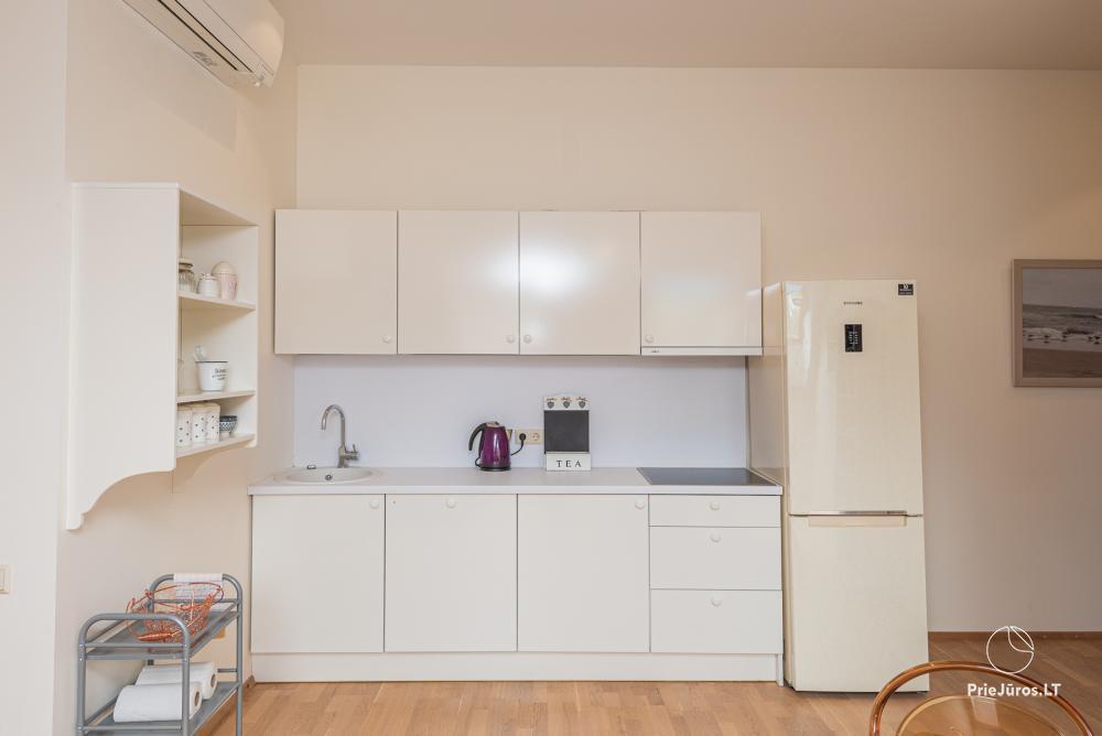 3 miegamųjų erdvūs apartamentai Nidoje su balkonu / terasa - 4