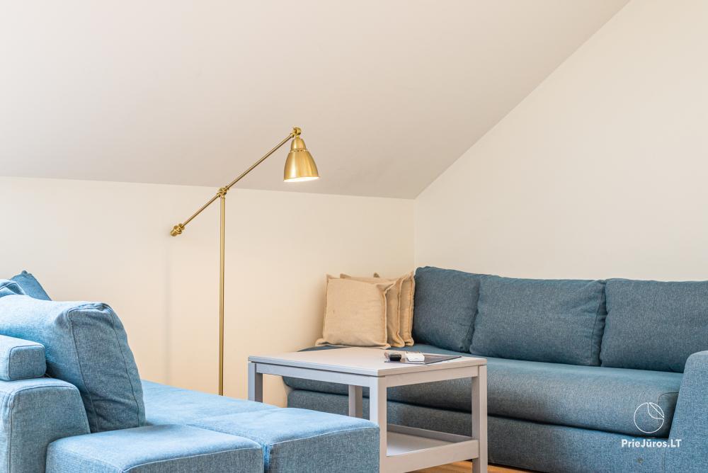 3 miegamųjų erdvūs apartamentai Nidoje su balkonu / terasa - 8