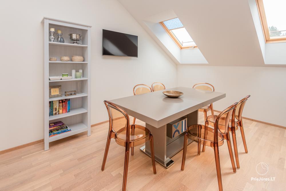 Geräumiges 3-Zimmer-Apartment in Nida mit Balkon / Terrasse - 2