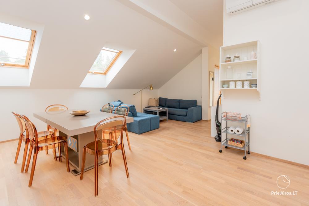Geräumiges 3-Zimmer-Apartment in Nida mit Balkon / Terrasse - 1
