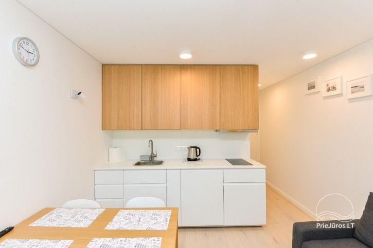 BRANDNEUE Wohnungen für 2-4 Personen in Pervalka das ganze Jahr über zu vermieten - 6