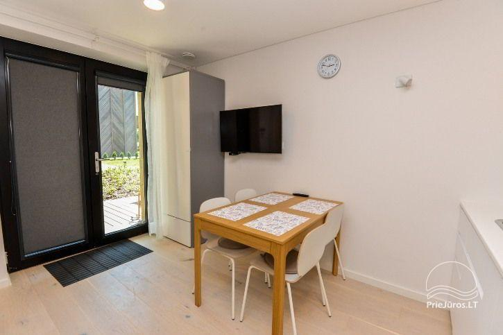 BRANDNEUE Wohnungen für 2-4 Personen in Pervalka das ganze Jahr über zu vermieten - 5
