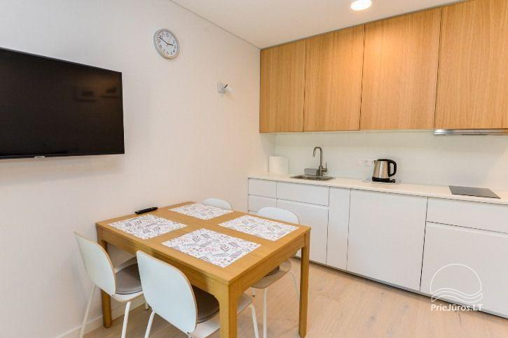 BRAND NEW apartments for 2-4 people to rent ALL YEAR ROUND in Pervalka - 4