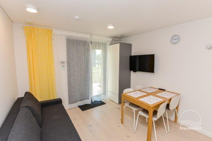BRANDNEUE Wohnungen für 2-4 Personen in Pervalka das ganze Jahr über zu vermieten - 7