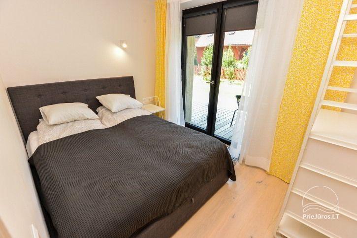 BRANDNEUE Wohnungen für 2-4 Personen in Pervalka das ganze Jahr über zu vermieten - 8