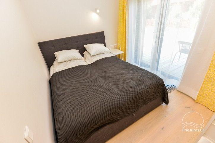 BRANDNEUE Wohnungen für 2-4 Personen in Pervalka das ganze Jahr über zu vermieten - 9