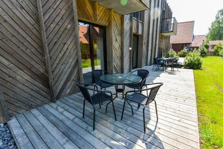 BRAND NEW apartments for 2-4 people to rent ALL YEAR ROUND in Pervalka