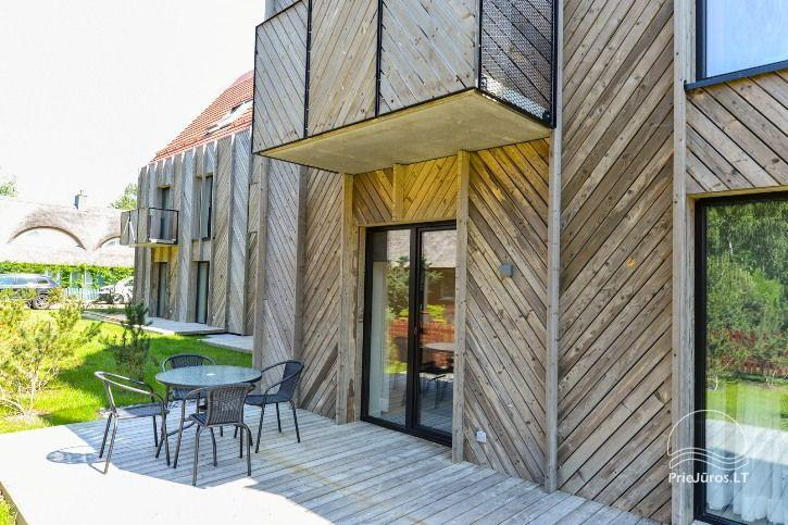 BRAND NEW apartments for 2-4 people to rent ALL YEAR ROUND in Pervalka - 1