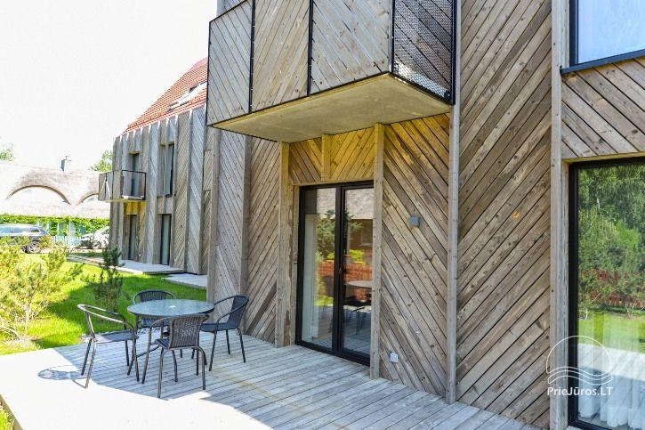 BRANDNEUE Wohnungen für 2-4 Personen in Pervalka das ganze Jahr über zu vermieten - 3