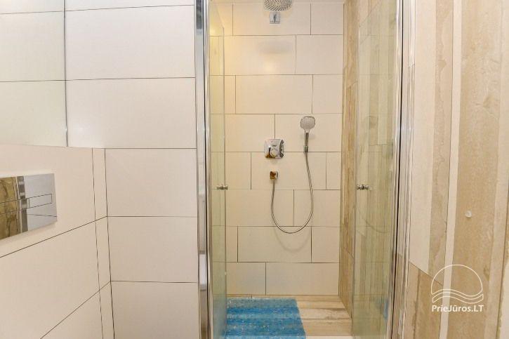 BRANDNEUE Wohnungen für 2-4 Personen in Pervalka das ganze Jahr über zu vermieten - 10