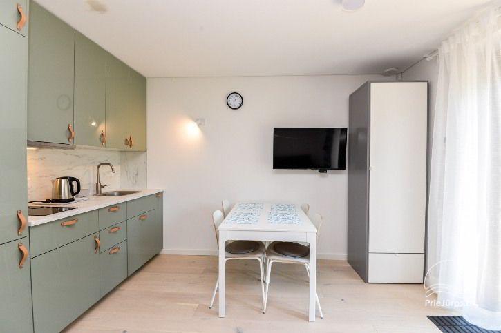 BRANDNEUE Wohnungen für 2-4 Personen in Pervalka das ganze Jahr über zu vermieten - 13