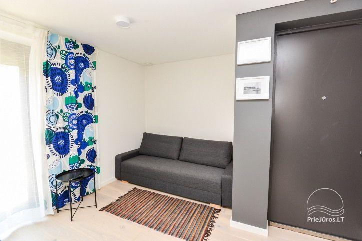 BRANDNEUE Wohnungen für 2-4 Personen in Pervalka das ganze Jahr über zu vermieten - 17
