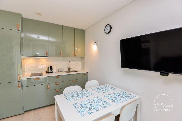 BRANDNEUE Wohnungen für 2-4 Personen in Pervalka das ganze Jahr über zu vermieten - 18