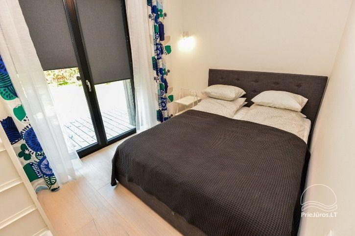BRAND NEW apartments for 2-4 people to rent ALL YEAR ROUND in Pervalka - 20