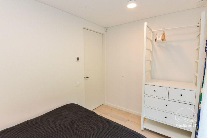 BRANDNEUE Wohnungen für 2-4 Personen in Pervalka das ganze Jahr über zu vermieten - 21
