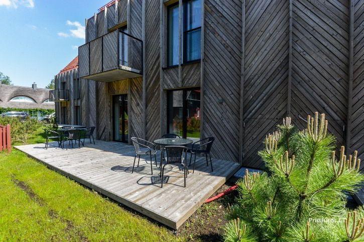 BRANDNEUE Wohnungen für 2-4 Personen in Pervalka das ganze Jahr über zu vermieten - 22
