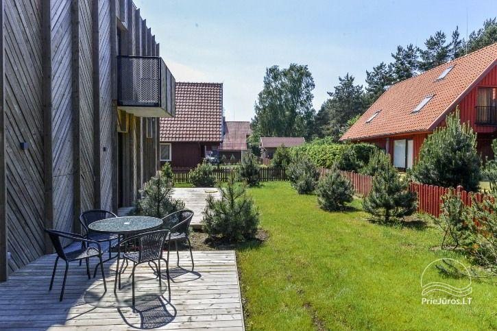 BRAND NEW apartments for 2-4 people to rent ALL YEAR ROUND in Pervalka - 23