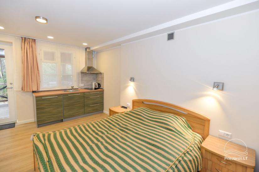 1 kambario apartamento su terasa ir kiemeliu nuoma Nidoje Pas Edgarą 2 - 5