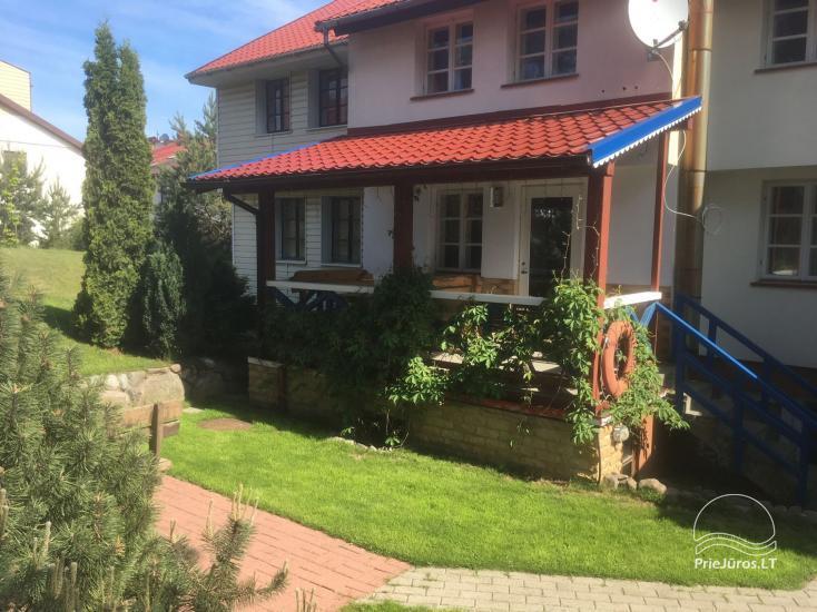 1 kambario apartamento su terasa ir kiemeliu nuoma Nidoje Pas Edgarą 2