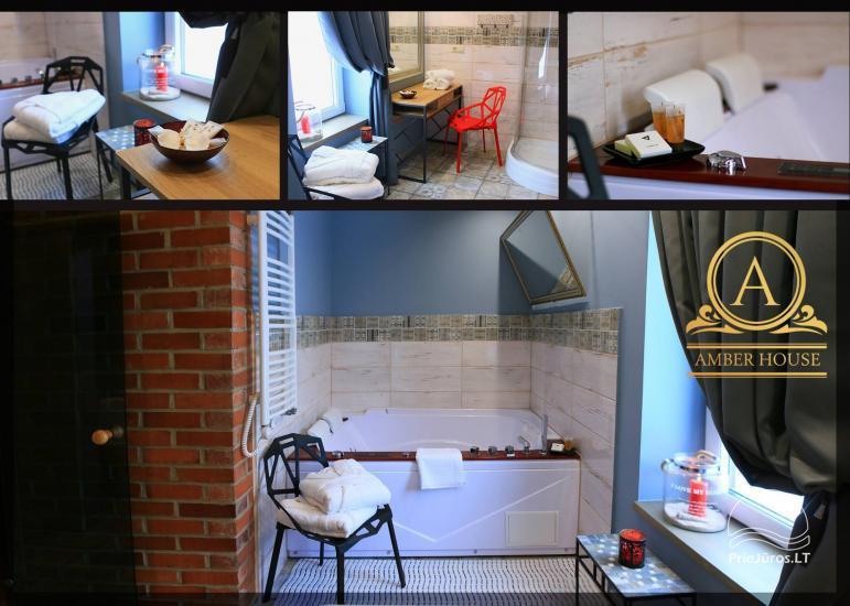 Mazā brīvdienu māja ar džakuzi Amber House - 1