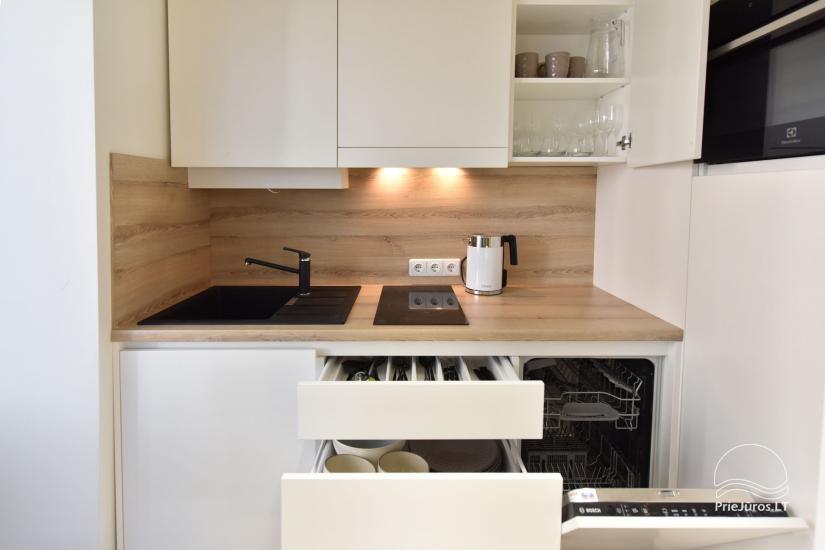 Virtuvėlės su visa reikaligna įranga, indaplovėmis