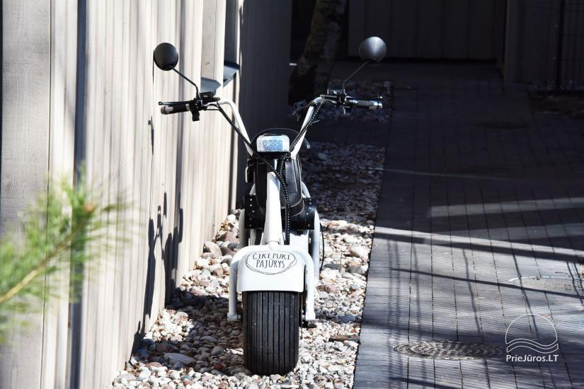 Elektrinių paspirtukų (motorolerių) nuoma