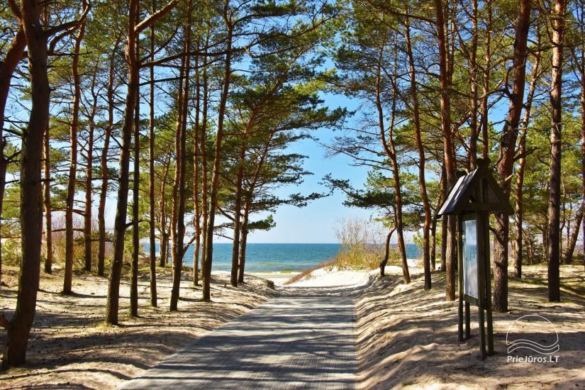 Čiki puki Ferienhäuser zur Miete in Palanga, in Kunigiskiai - 16
