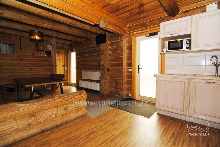 Log cabin for recreation with sauna - 3
