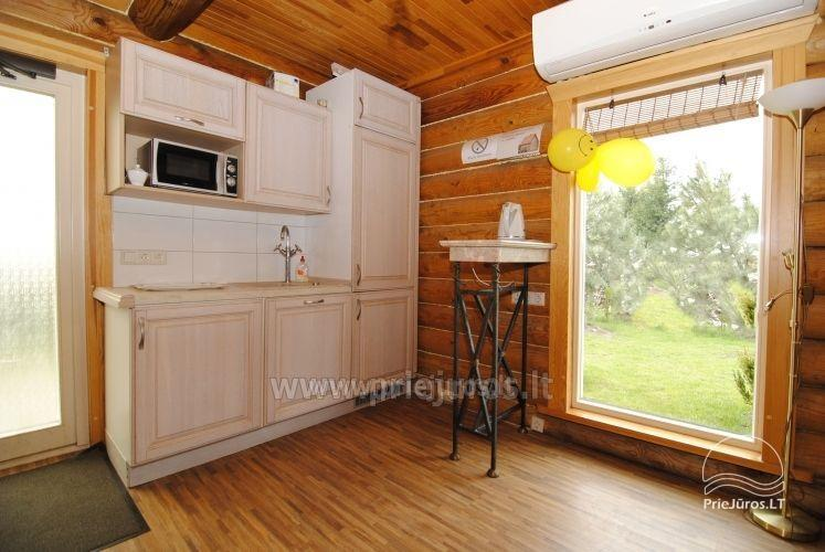 Log cabin for recreation with sauna - 4