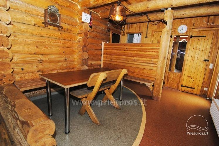 Log cabin for recreation with sauna - 6