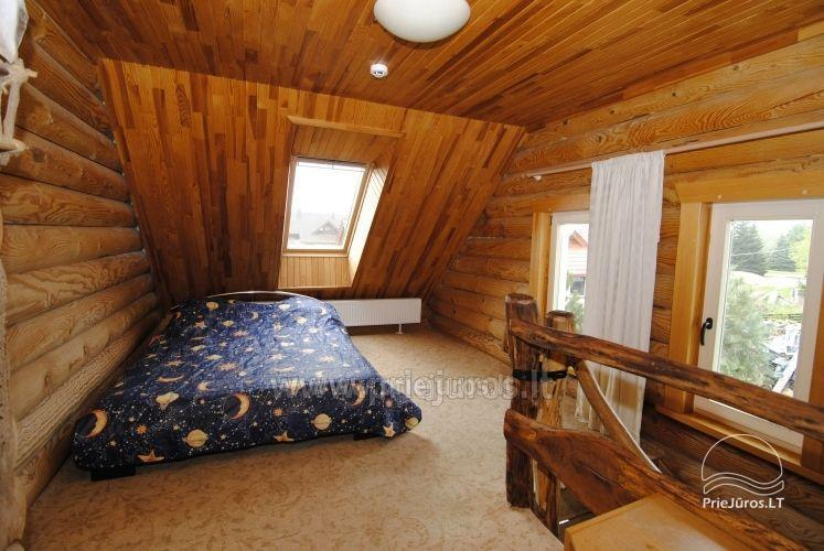 Log cabin for recreation with sauna - 8