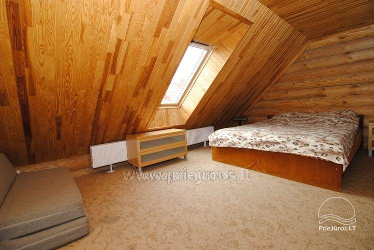 Log cabin for recreation with sauna - 9
