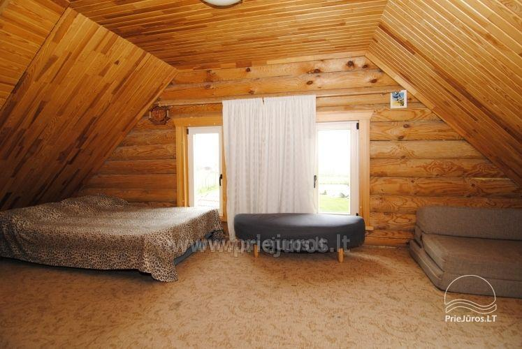 Log cabin for recreation with sauna - 10