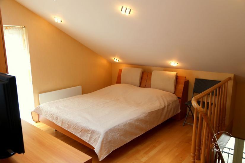 Juodkrantės apartamentai per du aukštus  Pušynas - 9