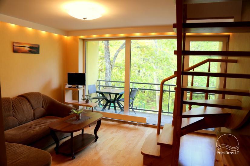 Juodkrantės apartamentai per du aukštus  Pušynas - 3