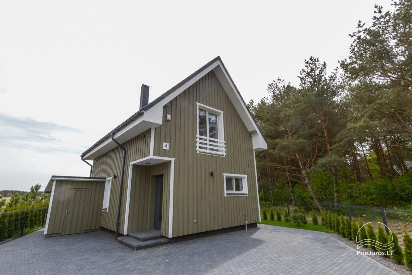 House with private yard for rent in Palanga, in Kunigiskiai - 14