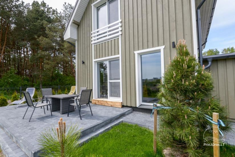 House with private yard for rent in Palanga, in Kunigiskiai - 1