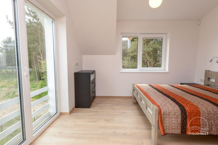 House with private yard for rent in Palanga, in Kunigiskiai - 10