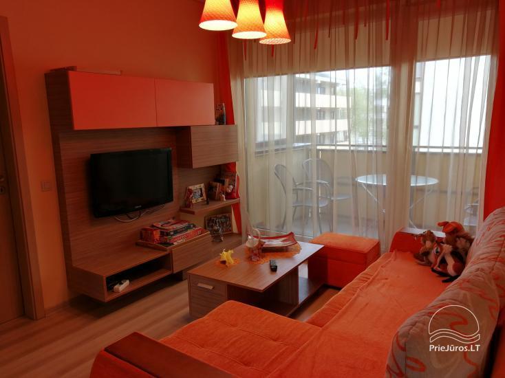 Jaukūs dviejų kambarių apartamentai nuomai Palangoje - 2