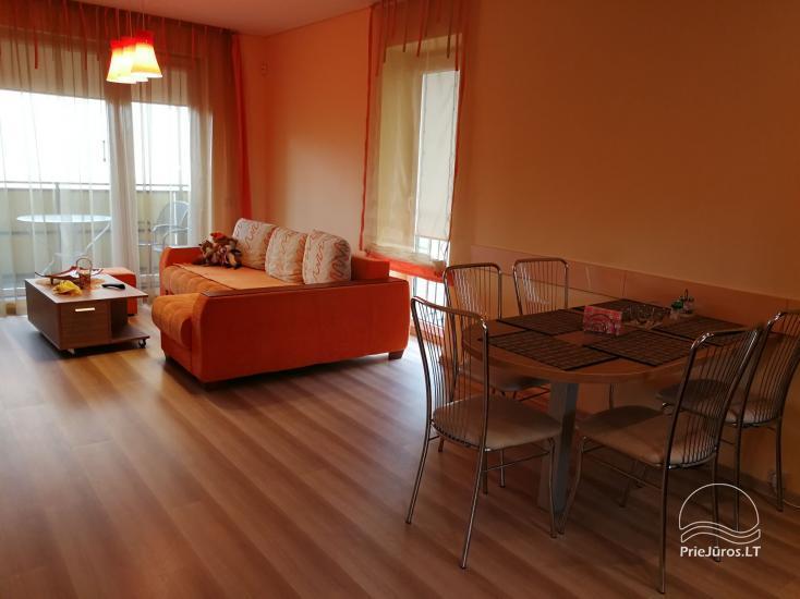 Jaukūs dviejų kambarių apartamentai nuomai Palangoje - 3