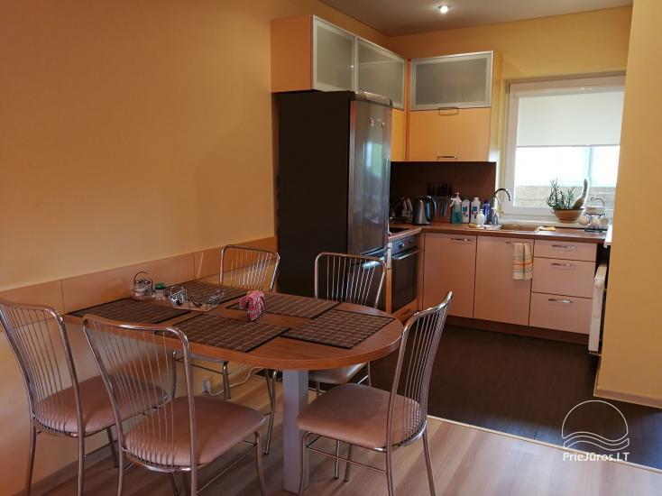 Jaukūs dviejų kambarių apartamentai nuomai Palangoje - 4