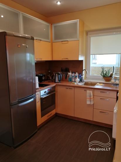 Jaukūs dviejų kambarių apartamentai nuomai Palangoje - 5