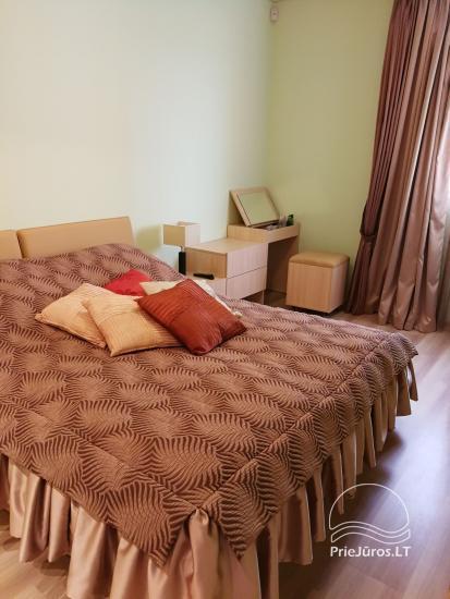 Jaukūs dviejų kambarių apartamentai nuomai Palangoje - 6