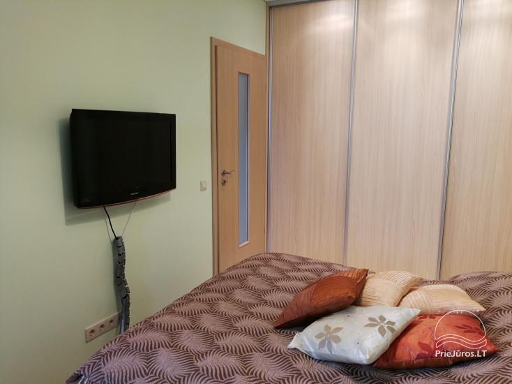 Jaukūs dviejų kambarių apartamentai nuomai Palangoje - 7