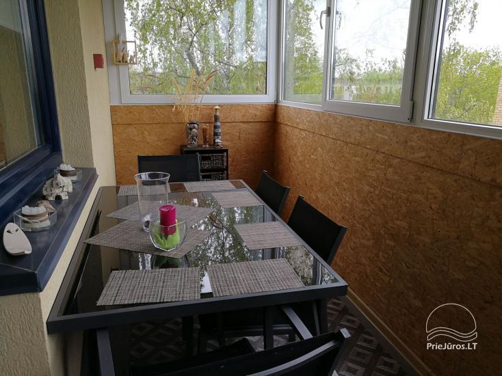 Jaukūs dviejų kambarių apartamentai nuomai Palangoje - 9