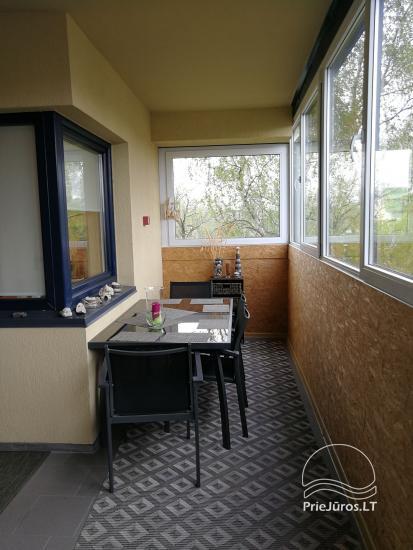 Jaukūs dviejų kambarių apartamentai nuomai Palangoje - 10