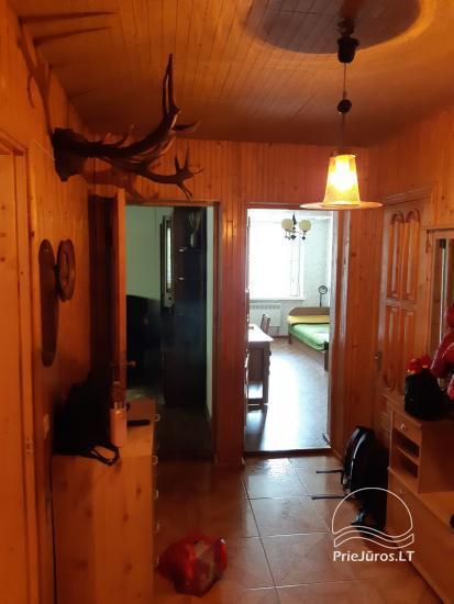 Trijų kambarių buto nuoma Juodkrantėje - 8