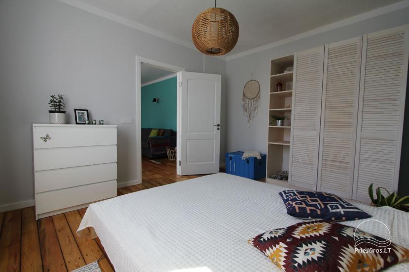 4 vietų apartamentų nuoma vos 200 m. iki jūros! - 7
