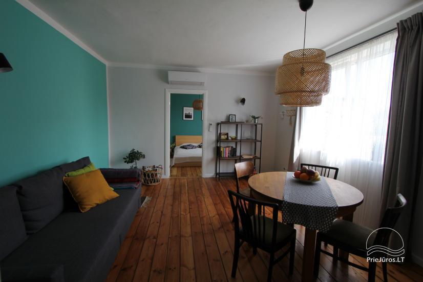 4 vietų apartamentų nuoma vos 200 m. iki jūros! - 2