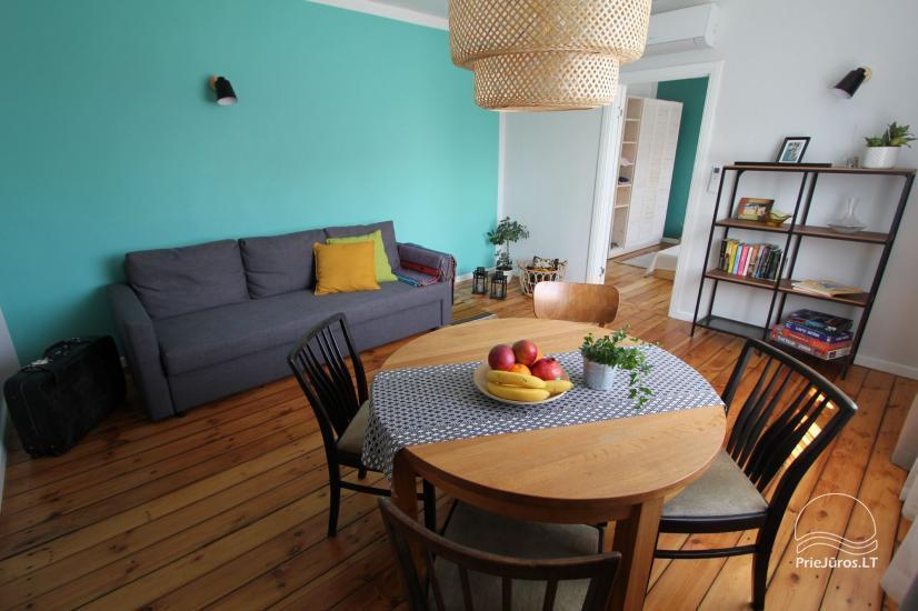 4 vietų apartamentų nuoma vos 200 m. iki jūros! - 1